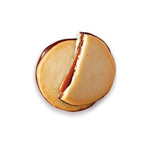 焦糖巧克力夾心餅