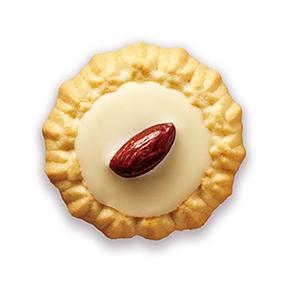 白色巧克力杏仁餅
