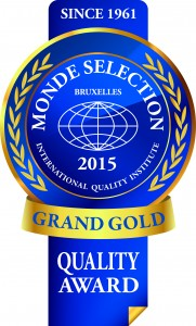 Monde Selection - Grand Gold Quality Award 2015 (Blue version)