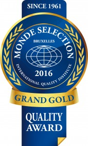 Monde Selection - Grand Gold Quality Award 2016 (Blue version)